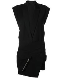 Alexandre Vauthier Tuxedo Mini Dress