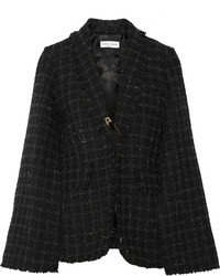 Sonia Rykiel Cape Effect Tweed Blazer