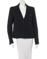 Chanel Striped Tweed Blazer