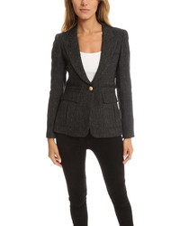 Smythe Peaked Lapel Inverted Pocket Blazer