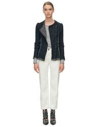 Rebecca Taylor Structured Tweed Blazer