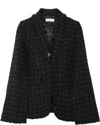 Sonia Rykiel Cape Effect Tweed Blazer