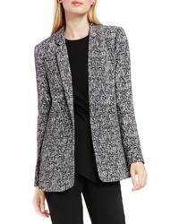 Vince Camuto Textured Tweed Boyfriend Blazer