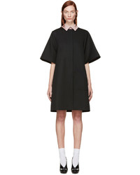 Black huron coat medium 620315