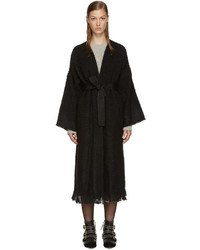 Black tweed iban coat medium 786105