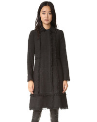 Boucle tweed coat medium 747093