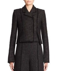 Proenza Schouler Slub Tweed Jacket