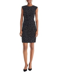 J.Crew Tweed Cap Sleeve Sheath Dress