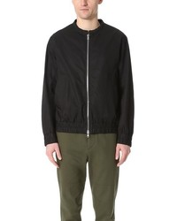 Marni Light Washed Cotton Twill Bomber