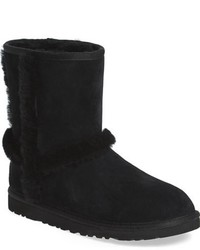 Girls Ugg Hadley Genuine Shearling Trimmed Boot