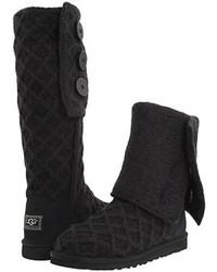 Lattice cardy pull on boots medium 113947