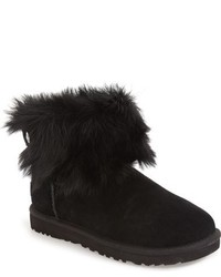 Ugg valentina genuine shearling cuff boot medium 816660