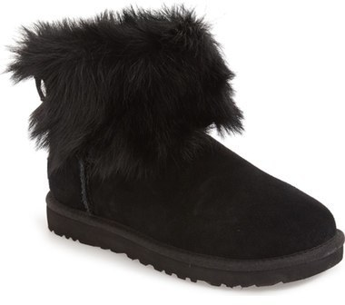 ... Ugg Valentina Genuine Shearling Cuff Boot ...
