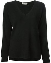 Black v neck sweater original 1322871