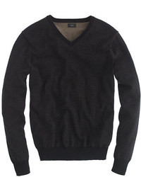 Black v neck sweater original 397188