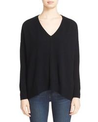 Autumn Cashmere Side Slit Cashmere Sweater