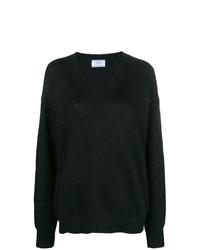 389c28fd16b0 Women's Black V-neck Sweaters by Prada | Women's Fashion | Lookastic.com