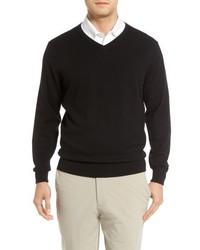 Cutter & Buck Big Tall Lakemont V Neck Sweater