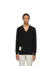 Maison Margiela Black Recycled Cashmere Sweater