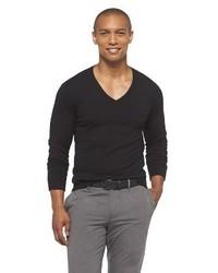 Mossimo Black V Neck Sweater