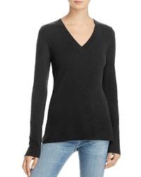 Aqua Cashmere V Neck Sweater 100%