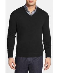 Cashmere v neck sweater medium 361245