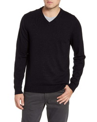 Nordstrom Men's Shop Cotton Cashmere V Neck Sweater
