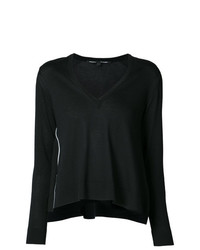 Proenza Schouler Cotton Silk Wave Pullover