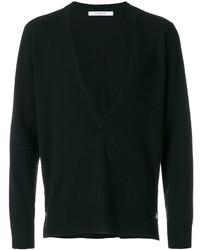 Givenchy Deep V Neck Sweater
