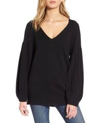 Ella Moss Francesca V Neck Sweater