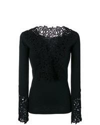 Ermanno Scervino Guipure Lace Sweater