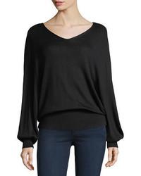 Splendid Harrow V Neck Pullover Sweater