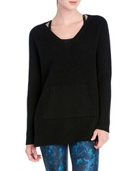 Jaden waffle knit sweater medium 801802