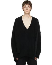 Isabel Benenato Knit Yak Sweater