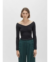Lemaire Merino Silk V Neck Sweater