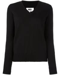 MM6 MAISON MARGIELA Classic V Neck Sweater
