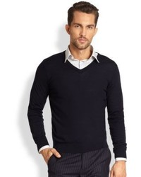 Theory New Sovereign Wool Sweater