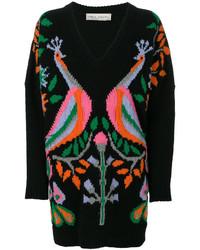 Peacock v neck sweater medium 4470245