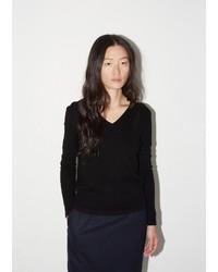 La Garçonne Moderne Portrait V Neck Sweater