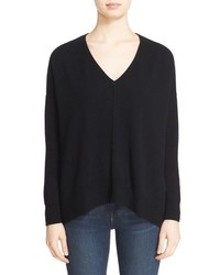 Autumn Cashmere Side Slit Cashmere Sweater