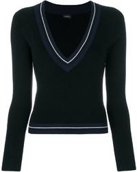 Silk soul v neck jumper medium 6748152