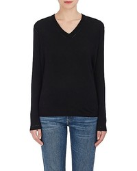 Skin Skin Draped Back Wool Blend Sweater