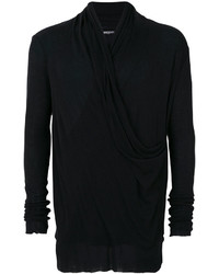 Balmain Slouchy Crossover Sweater