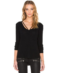 LnA Strappy Sweater