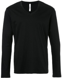 Attachment V Neck Jumper