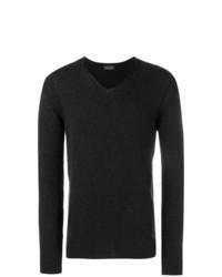 Roberto Collina V Neck Knit Sweater