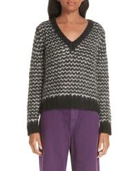Simon Miller Wool Blend V Neck Sweater