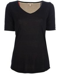 Black v neck t shirt original 1306347