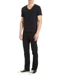 Barneys New York Basic V Neck T Shirt