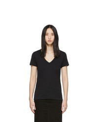 Rag and Bone Black The Vee T Shirt